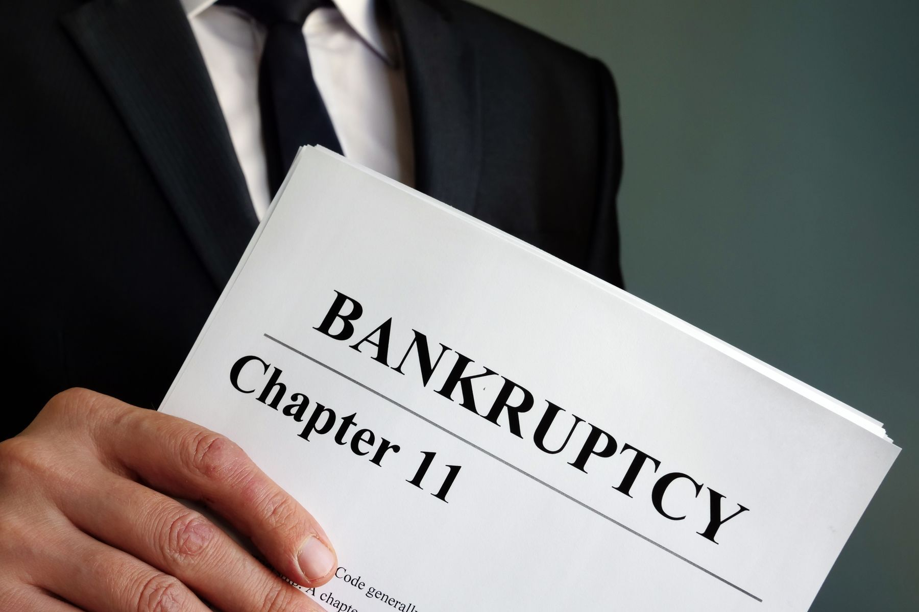 Distinguishing The Different Types Of Bankruptcy – Part One
