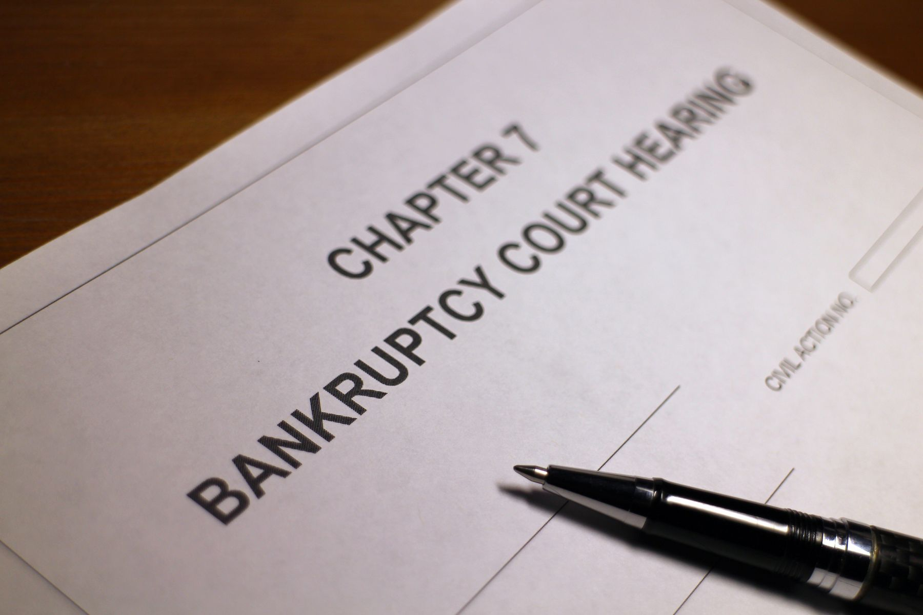 Distinguishing The Different Types Of Bankruptcy – Part Two
