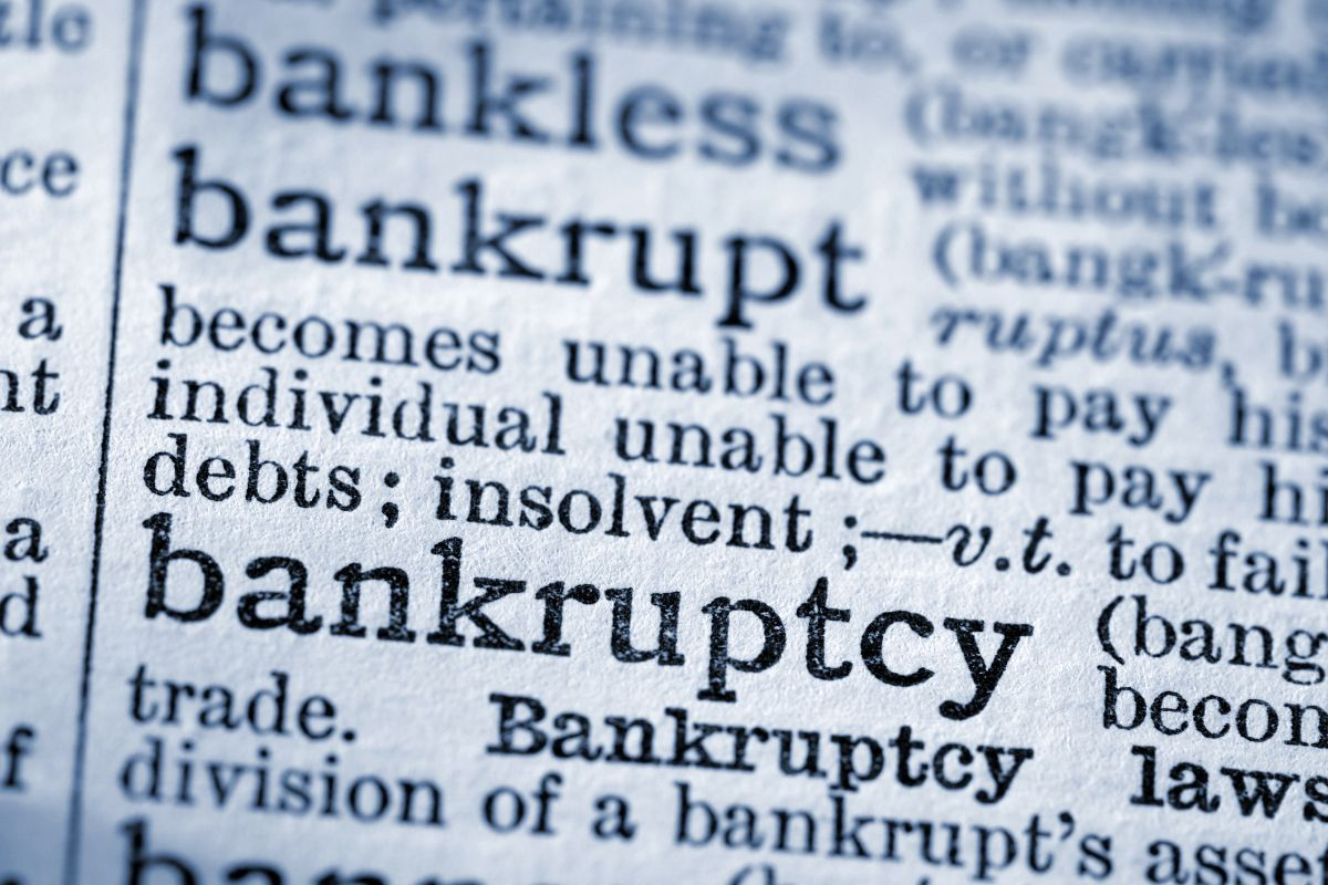 List Of Important Bankruptcy Terms